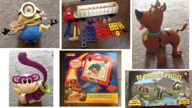 Various toys, £3 each or 2 for £5