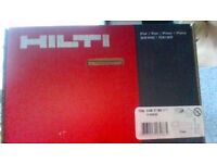 New hilti nails and gas for Gx100/Gx 120 gun