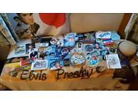 Elvis Presley LARGE Memorabilia collection