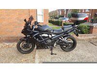 Suzuki gsx1250fa gsx 1250 fa over £1000 extras