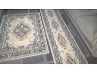 Rug and Runner for sale. Brand new condition