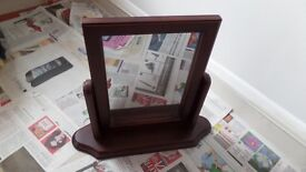 Small Swing Dressing Table Mirror on Stand