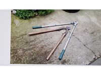 Tree loppers/pruners for sale