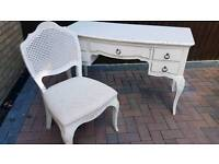 John Lewis dressing table and chair