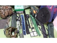 Fishing equipment for course/sea and fly