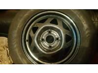 Vauxhall nova/corsa spare wheel