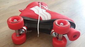 Roller boots size 7 used once