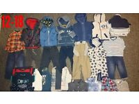 Large 12-18 boys clothes bundle