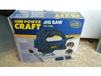 Power JIG SAW with dust extraction, 750w, 70mm blade