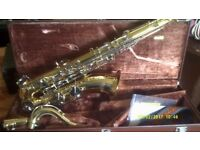 YAMAHA TENOR SAXOPHONE In MINT AS NEW CONDITION MOUTHPIECE SLING & CASE , PERFECT+++