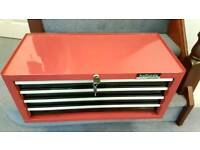 New Halfords Professional Middle 4 drawer Toolbox