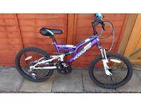 Girls Bike Muddyfox Recoil 20