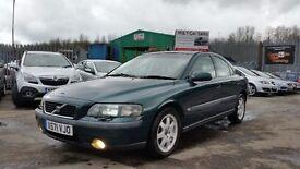 2001 (X REG) Volvo S60 2.0T S 4dr Saloon For £695, Mot'd til 07/05/2017, Very Nice Clean Car