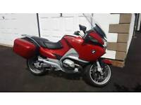 2005 bmw r1200 rt with radio and cd