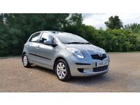 TOYOTA YARIS 1.3 TR 58 PLATE 2008 1P/OWNER 81000 MILES FULL TOYOTA SERVICE HISTORY AIRCON ALLOYS 5DR
