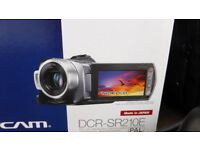 Sony Handycam Hard Disk Drive Camcorder DCR-210E - boxed with all CD's, leads etc