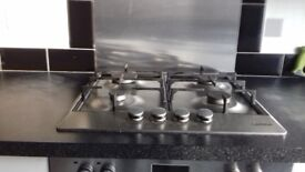 Integrated electric oven integrated gas hob & electric extractor all in good working order