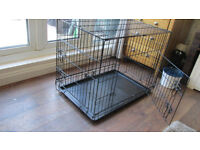 "Dog Cage Puppy,Cat Cage = normal 30"" crate size length. height 24"".deep 21"""