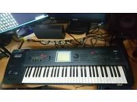 Korg Triton Extreme 61 Key synthesizer sampler workstation vocoder