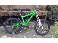 Custom mountain bike, Commercial supreme, fox fawkes plus more !