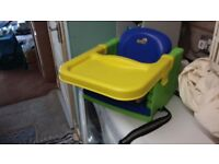 Portable Highchair Seat with tray - Lipski