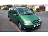 2001 Volkswagen sharan 1.9 Tdi***DVD***FSH***MOT run out***