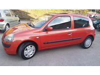 2004 Renault Clio Hatchback 1.5 dCi Extreme 3, 3dr. £30/Year Road Tax, MOT'd.