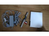 Wii with charger and cables console not working