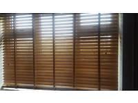 Oak blinds