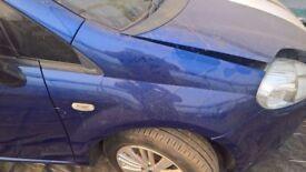 breaking fiat grande punto dark blue 1.3 diesel all parts available