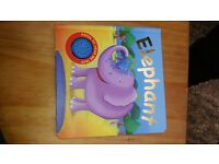 Elephant Board Book - baby childrens