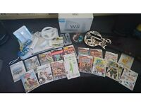 Nintendo Wii, 19 games & accessories