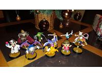 Job lot of 10 Nintendo Amiibo , Link, Mewtwo Dr Mario