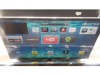 "Samsung 40"" 4k Freeview HD Wifi Smart 3D LED TV £240"