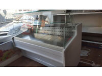 Disply chiller Salad bar Panini machine Display drink chiller