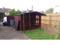 Free garden shed/summer house