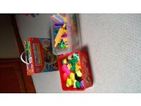 New box of plasticine and play dough