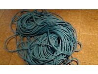 50m + Blue Poly Rope