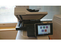 Used but in good condition HP LaserJet HP500 colour MFP575 (scanner & printer)