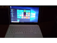 "White Sony Vaio Sony SVF-152C29/ i3-3227u/ 4GB Ram / 750GB HDD / DVD-RW / 14"" Windows 10"