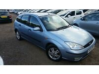 Ford Focus 1.8 i 16v Zetec 5dr, LONG MOT, HPI CLEAR, DRIVES SMOOTH, FIRST COME WILL BUY