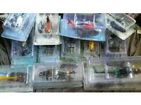 12 1/72 scale diecast model helicopters