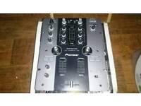 Pioneer djm-250-k 2 channel digital dj mixer