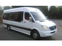 Greater London Minibus Hire With Driver - We Beat Any Quote - 8-16 Seater Minibuses - 24 Hours