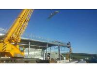 structural steel/cladding/erecting/cladding