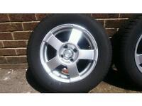 "BSA Motorsport Alloy Wheels 14"""