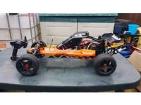 Hpi baja castle creations monster mamba xl2 8s rc buggy Xbox