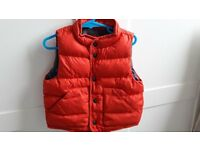 BOYS GILET AND SHOWERPROOF LIGHTWEIGHT COAT (Age 12 ~ 18 months)