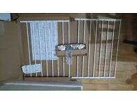 BabyDan , MultiDan metal, white , Safety Gate,Baby Gate