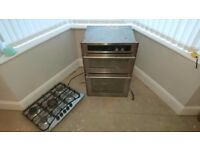 Gas Oven and Gas Hob